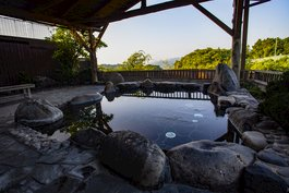 An onsen to relax in after a day out